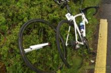 bad crashes Irish cycling A4 races