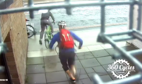 Irish cycle mechanic floors guy trying to steal his bike