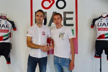 Dan Martin UAE Team Emirates