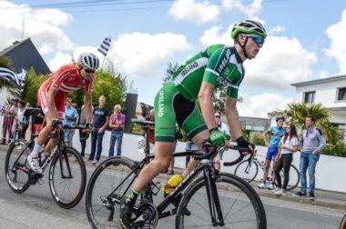 Matt Teggart climbers' jersey Tour de l'Avenir