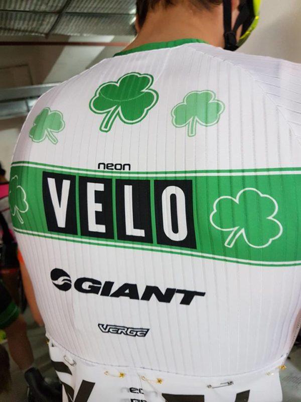 Marc Potts in new Irish criterium champion's kit