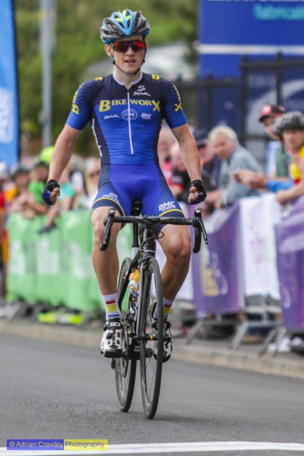 Irish cyclist Adam Stenson