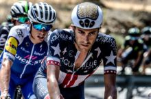 Aqua Blue Sport Vuelta breakaway