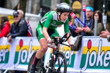 Cyclist Eileen Burns crowdfunding Commonwealth Games