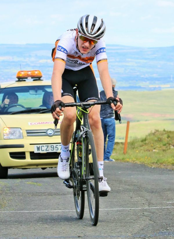 Ethan Downey wins Irish cycling junior road race champs