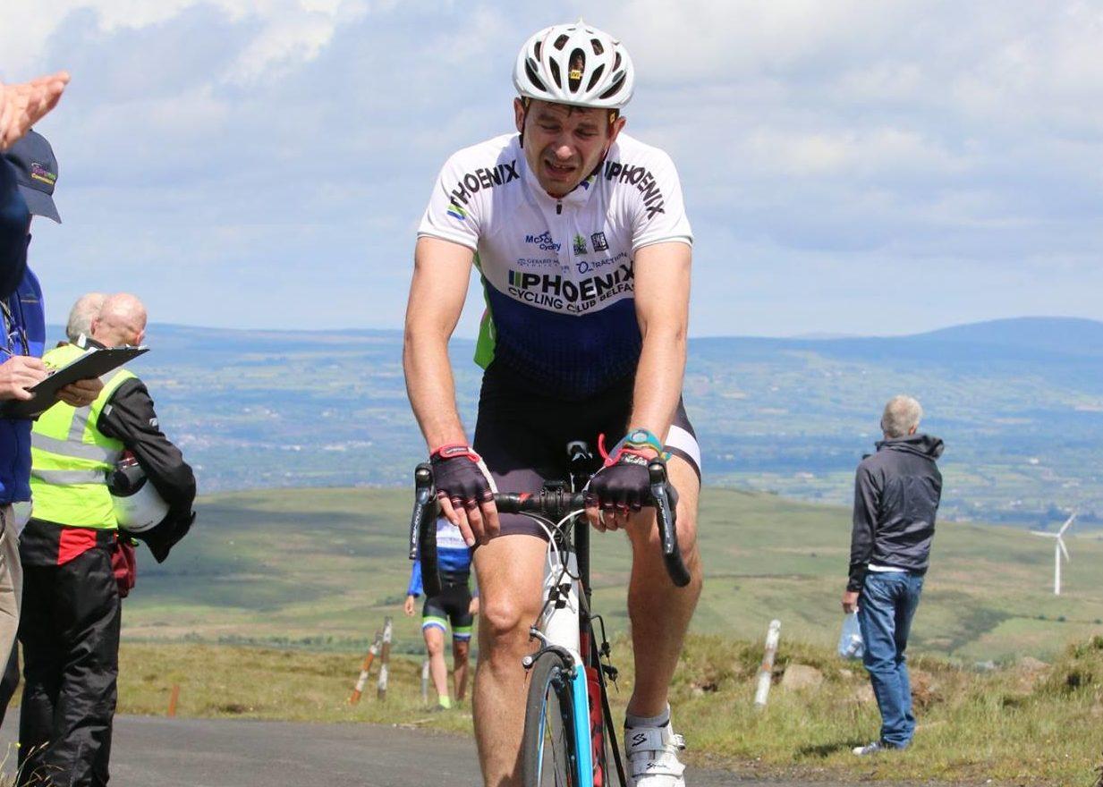 Gary Millar wins Irish cycling A3 road champs