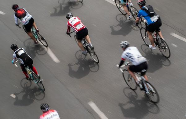 pedestrian collision dead sportive cyclist