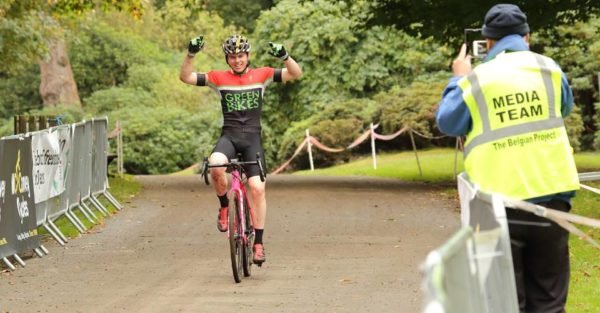 David Montgomery win McConvey Cross Cup, Ulster Cyclocross Series Race 4