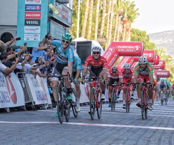 Sam Bennett wins stage 2 Tour of Turkey