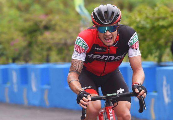 Nicolas Roche takes WorldTour podium in China