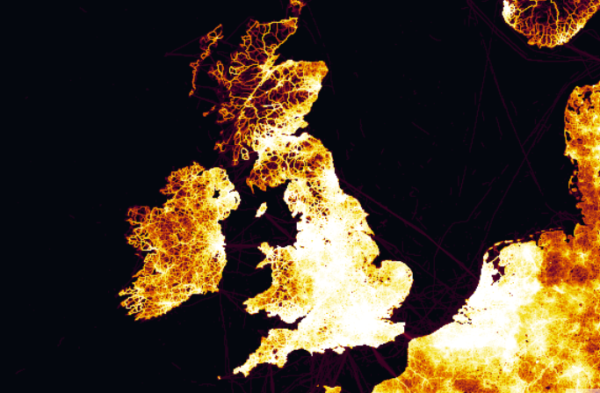 Check out your region on new global Strava heat map