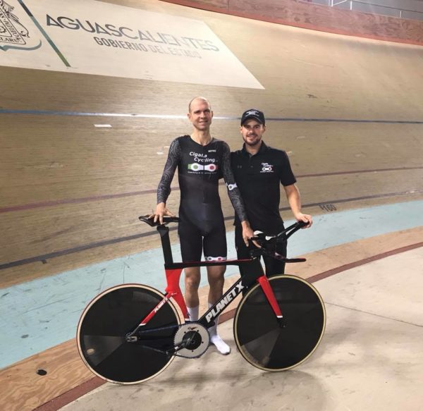 Greg Swinand Irish elite hour record