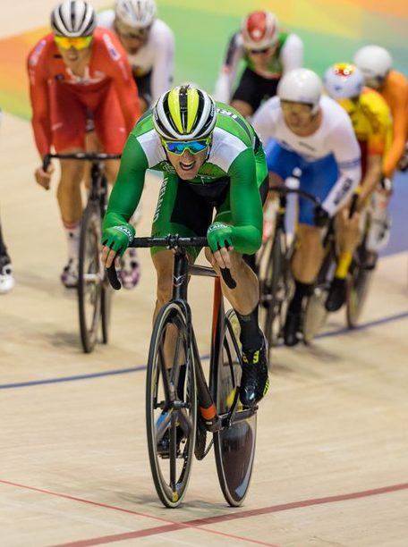 Irish track cycling team