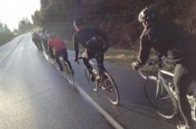cyclists big miles winter