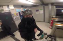 Video bike thief Dun Laoghaire Dublin