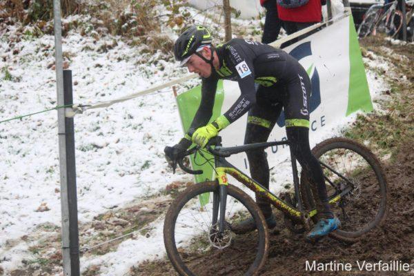 Irish cyclist David Conroy Belgium cyclocross