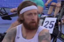 Video Bradley Wiggins rowing false start error