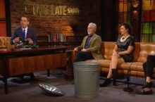 Late Late Show arrogant cyclists
