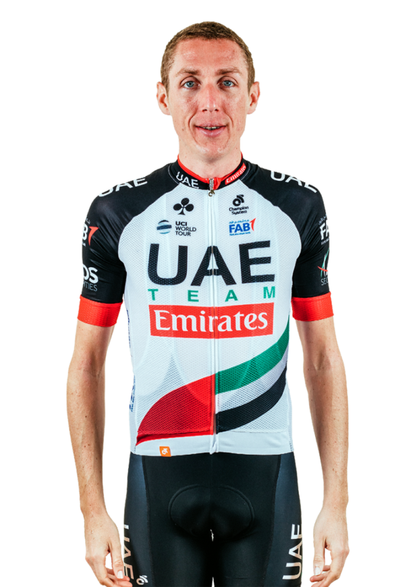 cyclist Dan Martin Team UAE Emirates