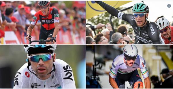 Irish professional cyclists
