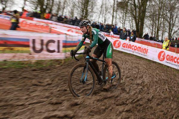 Cyclist Lara Gillespie Ireland cyclocross Worlds