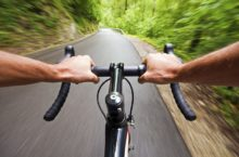 cyclists lose weight fat
