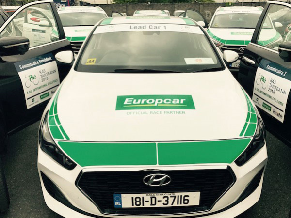 Europcar Rás competition for a day and night on the race