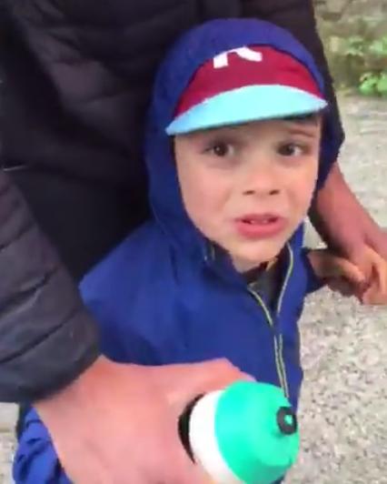 Video Sam Bennett kid Giro