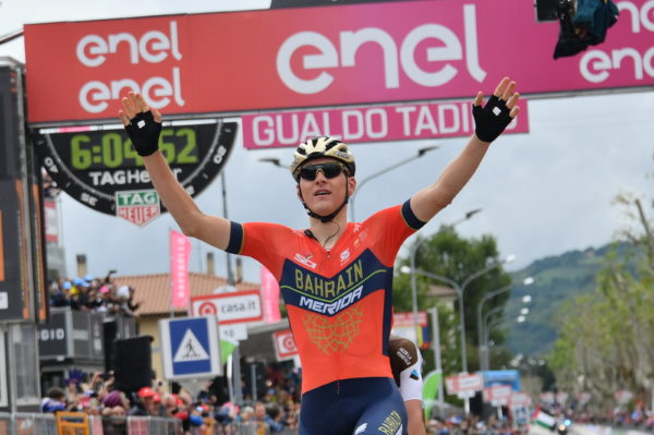 Sam Bennett 3rd on stage 10 Giro d'Italia 2018