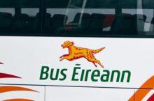 Video Bus Eireann overtaking cyclist