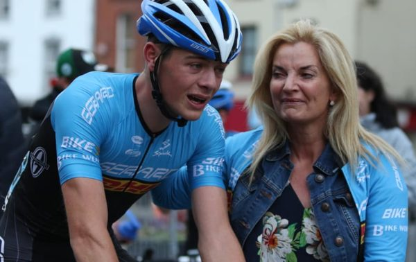 Dillon Corkery Irish crit champion