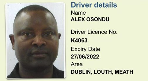 Dublin cyclists searching for this taxi driver