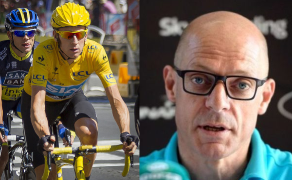 Pat McQuaid reminds Dave Brailsford of his own controversial record