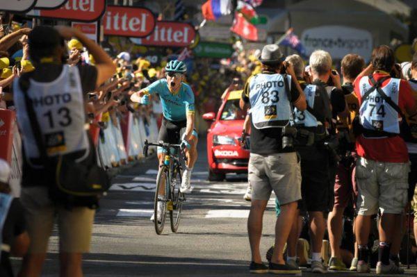 Dan Martin TV motos Tour de France