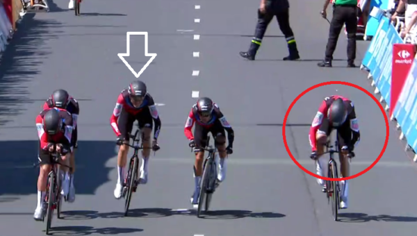 Van Avermaet nobbles Van Garderen on the line for yellow