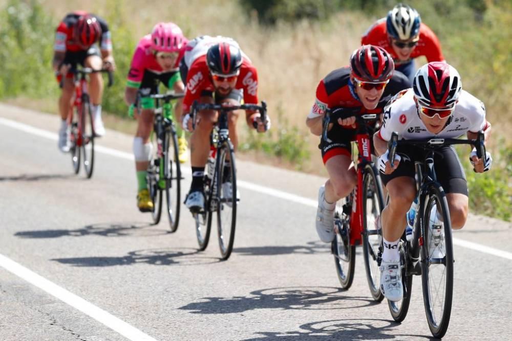 4346e55d9 Video  Nicolas Roche in strong breakaway ride again at Vuelta ...