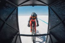 Cycling speed world record Denise Mueller-Korenek