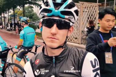 Eddie Dunbar Team Sky Grand Tours
