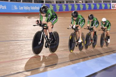 Irish team pursuit London World Cup