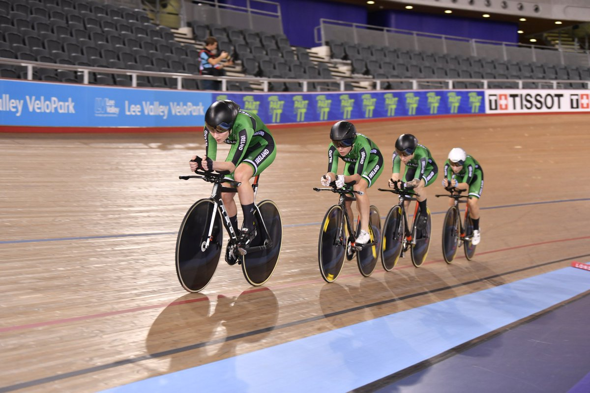 bbaaa99c9 Irish women post historic team pursuit ride at London World Cup ...