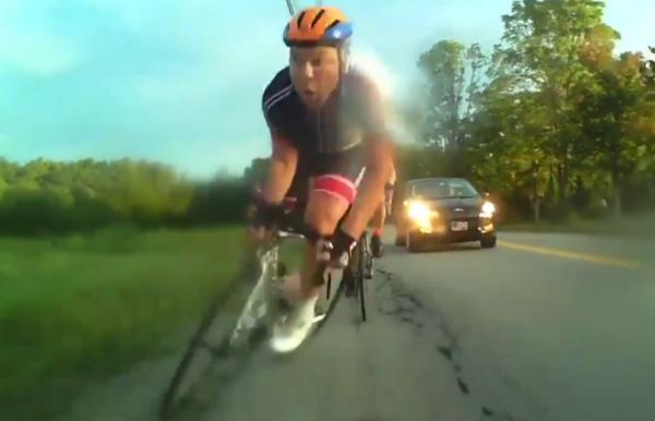 cycling pothole crash