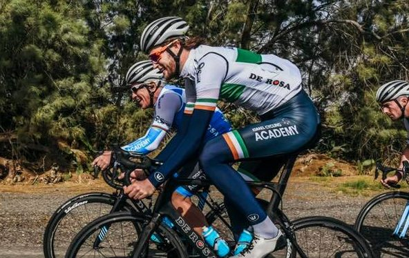 conor dunne in his new irish cycling champion u0026 39 s kit 2019