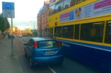 Dublin City Council cycle lanes