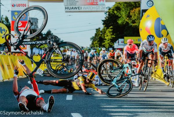 Is Dylan Groenewegen really the villain of Tour de Pologne crash? - Sticky  Bottle